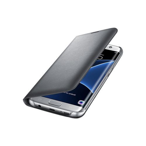 SAMSUNG LED View Galaxy S7 Edge Silver (EF-NG935PSEGWW)