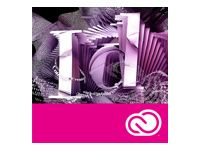 ADOBE InDesign CC Renewal subscription Price-lock only Multiple Platforms English - Corporate - Price-lock only (65227457BA02A12)