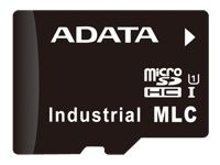 ADATA IDU3A MLC microSD Card 8GB Normal Temp MLC 0-70C
