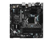 MSI B150M MORTAR LGA1151 Intel B150 D-SUB DVI HDMI 6xSATA3 1xPCI-E x16 1xPCI-E x4 2xPCI-E x1 mATX