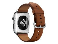 APPLE Watch 42 mm klassisches Armband braun (MLE02ZM/A)