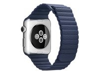 APPLE 42mm Blue Leather Loop Large (MLHM2ZM/A)
