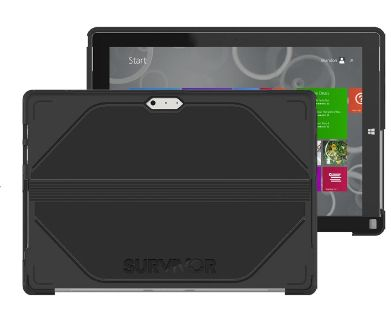 Tabletfodral Survivor Journey Surface Pro3 Svart/Grå