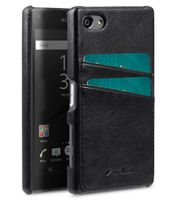 COVER WITH DUAL CARD SLOT SONY XPERIA Z5 COMPACT BLACK