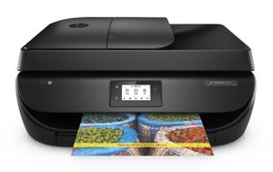 HP Officejet 4650 All-in-One Blækprinter Sort