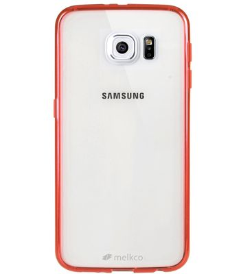 POLYULTIMA CASE SAMSUNG GALAXY S6 TRANSPARENT RED