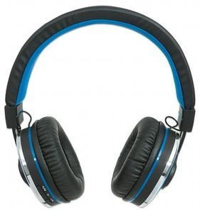 MANHATTAN Headset Sound Science Cosmos Bluetooth blau (178440)