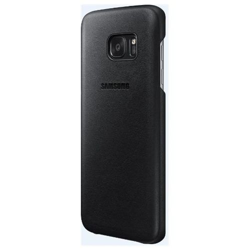 SAMSUNG Gal S7 Edge Leather Cover Brown (EF-VG935LDEGWW)