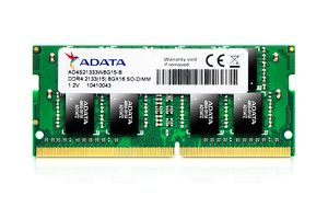 SO DDR4 8GB PC 2133 CL15 ADATA Value Premier