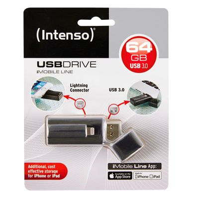 iMobile Line        64GB USB 3.0 + Lightning Connector