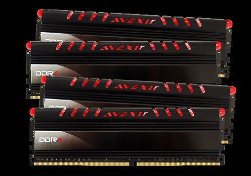 Core Series, rote LED, DDR4-2400,  CL16 - 16 GB Kit