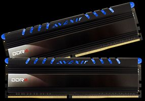 Core Series, blaue LED, DDR4-2400,  CL16 - 8 GB Kit