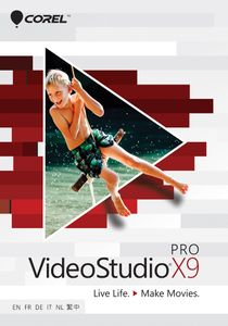 COREL VIDEOSTUDIO PRO X9 MINI-BOX