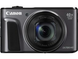 POWERSHOT SX720 HS BLACK 20.3MP 40X OPTICALZOOM WIFI      IN CAM
