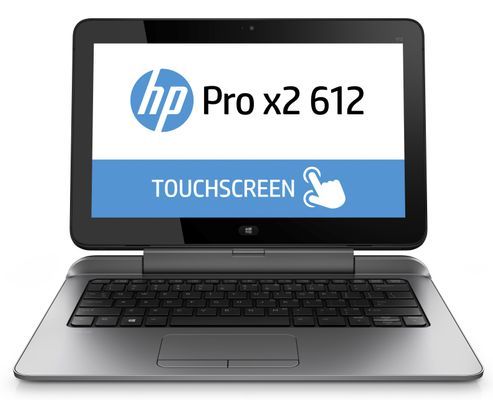 "Pro x2 612 G1 - Tablet - med tastaturdock - Core i5 4202Y / 1.6 GHz - Win 10 Pro 64-bit - 8 GB RAM - 256 GB SSD - 12.5"""" IPS touchscreen 1920 x 1080"