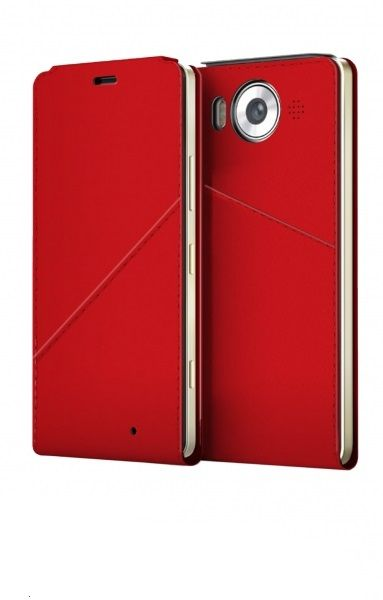 Lumia 950 NB FlipCover Red WLC/NFC