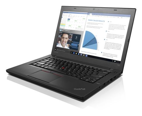 "T460, Intel Core i5-6200U, 1x8GB, 256 GB SSD, no ODD, Intel Integrated HD Graphics, 14.0"" FULL HD (1920x1080),  10/100, Intel 8260 ACBGN non Vpro + BT4.1, Ready, FPR, 3cell 23.5Whr integrated + 3cell 2"