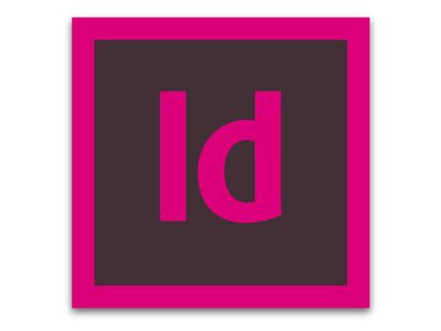 ADOBE INDESIGN CC FOR ENT 1 USER/LVL 1 1-9 IN (65276889BC01A12)