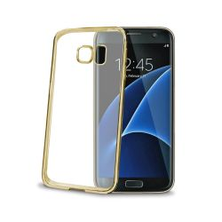 CELLY (LASER COVER GALAXY S7 EDGE GD) (BCLS7EGD)
