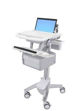 STYLEVLIEW LAPTOP CART TALL DRAWER CRTS