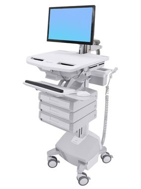 STYLEVIEW CART WITH LCD ARM LIFE POWERED 3 DRAWERS SAU-EU CRTS