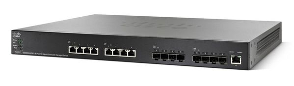 SG550XG-8F8T 16-PORT STACKABLE MANAGED SWITCH IN