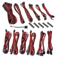 Alchemy 2.0 PSU Cable Kit, BQT-Series DPP - schwarz/ rot