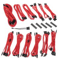 Alchemy 2.0 PSU Cable Kit, SSC-Series - rot