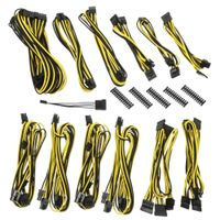 Alchemy 2.0 PSU Cable Kit, CMR-Series - schwarz/ gelb