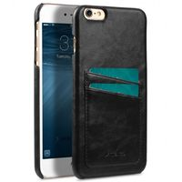 COVER WITH DUAL CARD SLOT IPHONE 6/6S BLACK