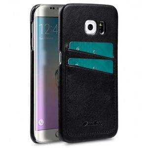 MELKCO COVER WITH DUAL CARD SLOT SAMSUNG GALAXY 6S EDGE BLACK (SSS6EDLOCF3BKPU)