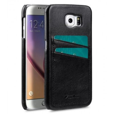 COVER WITH DUAL CARD SLOT SAMSUNG GALAXY 6S BLACK
