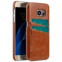 COVER WITH DUAL CARD SLOT SAMSUNG GALAXY S7 BROWN