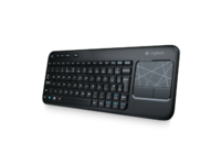 Wireless Touch Keyboard K400 For wireless control of your laptop—even when it's connected to your TV