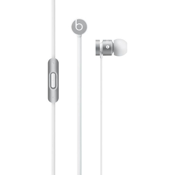 urBeats In-Ear Headphones Sølv,  Mic, in-line fjernkontroll