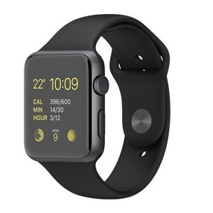 APPLE WATCH SPORT 42MM (SPACE GREY/ BLACK) (MJ3T2DD/A)