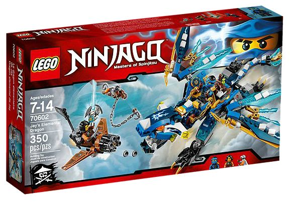 NINJAGO 70602 Jay`s Elemental Dragon