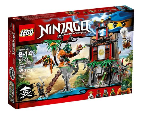 Ninjago 70604 Tiger Widow Island