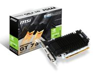 MSI GeForce GT 730 2GD3H/LP, 2048 MB DDR3, Low Profile