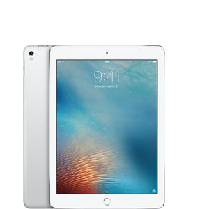 "APPLE iPad Pro 9.7"" 32GB WiFi Sølv WiFi,  9.7"" Retina skjerm, 12MP/5MP Kamera, iOS 9.3 (MLMP2KN/A)"