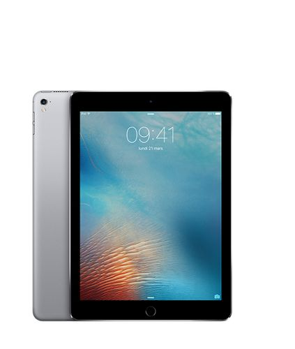 "APPLE iPad Pro 9.7"" 256GB Cell Grå WiFi+Cell,  9.7"" Retina skjerm, 12MP/5MP Kamera, iOS 9.3 (MLQ62KN/A)"