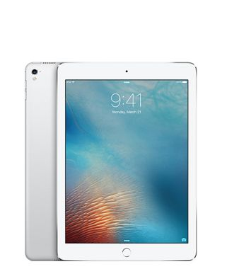 "iPad Pro 9.7"" 32GB Cell Sølv WiFi+Cell,  9.7"" Retina skjerm, 12MP/5MP Kamera, iOS 9.3"