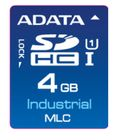 A-DATA ADATA IDC3B MLC SD Card 4GB Normal Temp MLC 0-70C