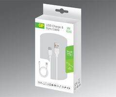 CB22 Charge & Sync Cable 2 m Micro USB for Samsung Galaxy