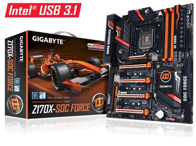 GIGABYTE GA-Z170X-SOC FORCE S-1151 ATX (GA-Z170X-SOC Force)