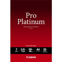 PT-101 A2 20 PHOTO PAPER PLATINUM 20 SHEETS