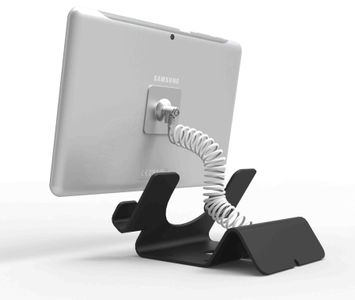 MACLOCKS UNIVERSAL TABLET LOCK & STAND TABLETS AND SMARTPHONES (CL12CUTHBB)