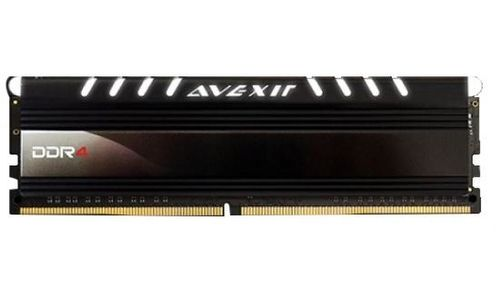 AVEXIR Core Series, weiße LED, DDR4-2400,  CL16 - 4 GB (AVD4UZ124001604G-1COW)