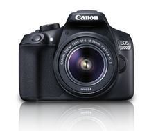 Canon EOS 1300D EF-S 18-55 IS .                                IN CAM (1160C026)
