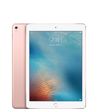 "iPad Pro 9.7"" 32GB WiFi Rose Gull WiFi,  9.7"" Retina skjerm, 12MP/5MP Kamera, iOS 9.3"